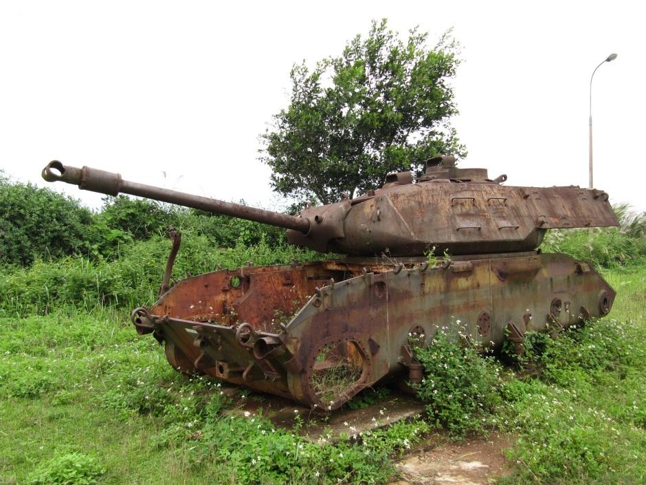 Vietnam - U.S. Panzer aus dem Vietnamkrieg