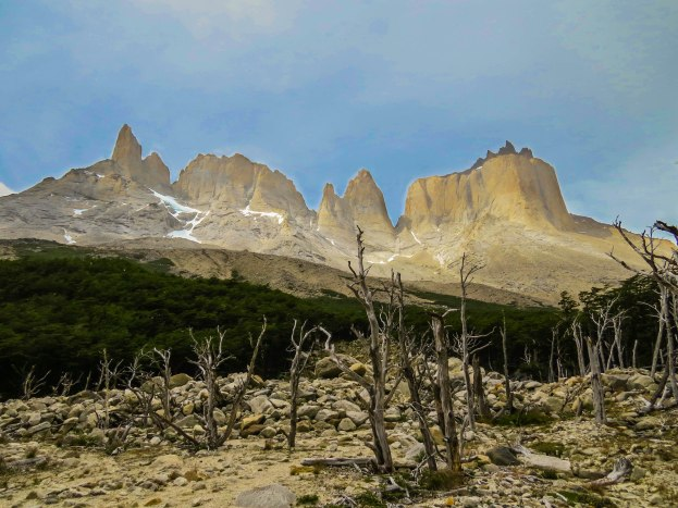 Chile - Patagonia: The French Valley on day two of the famous W-Trek